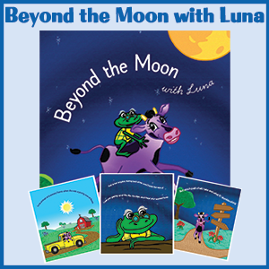 Beyond the Moon with Luna | Go Luna Girl Go | Let's Go Chipper | Chipper Family Moments | Motivational Story Book for Young Girls