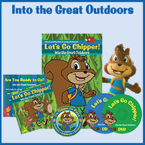 Into the Great Outdoors | Chipper Family Moments | Let's Go Chipper | Eco-education for young kids aged 2 to 8, Pre-k to 3rd grade